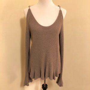 Express Cold Shoulder Sweater